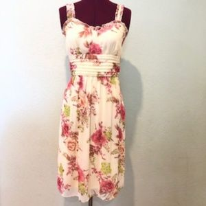 Dressbarn Flaral summer dress
